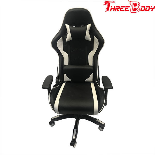 High End Racing Seat Computer Chair , Bucket Seat Office Chair With Adjustable Headrest