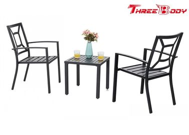 Chiny Patio Metalowe krzesła na ramię Outdoor Garden Furniture Indoor Dining Chair Set fabryka